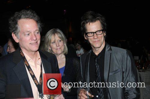 Michael Bacon, Helga Bacon and Kevin Bacon The...