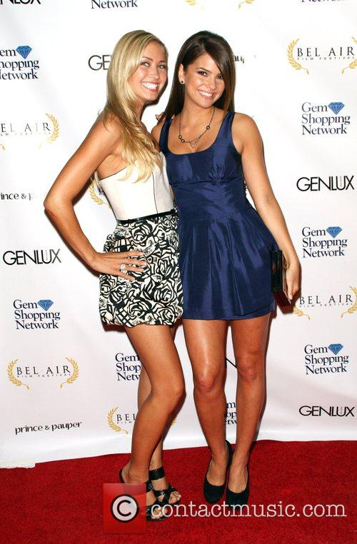 Tamy Farrell and Shelley Hennig 2008 Bel Air...