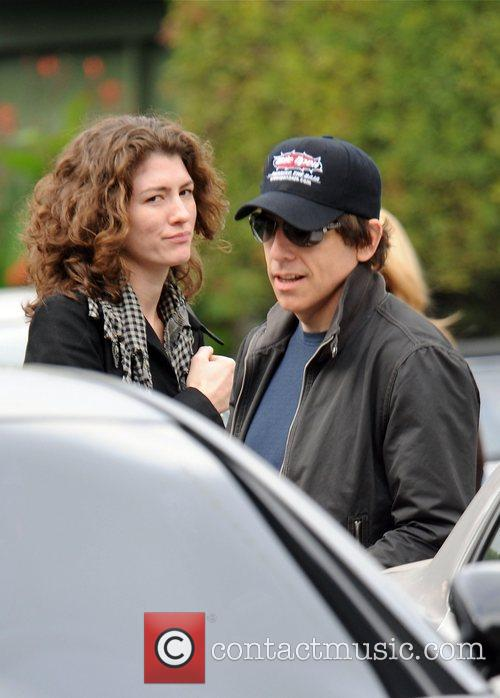 Ben Stiller leaving a meeting in Hollywood Los...