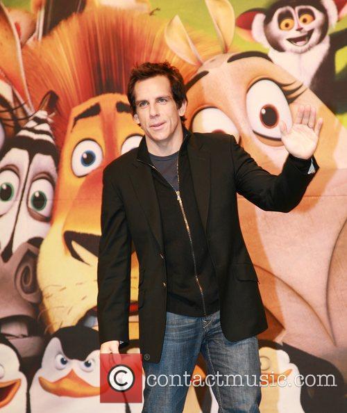 Ben Stiller attends the 'Madagascar Escape 2 Africa'...
