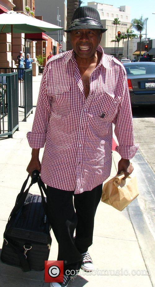 American actor, dancer, and singer Ben Vereen leaving...