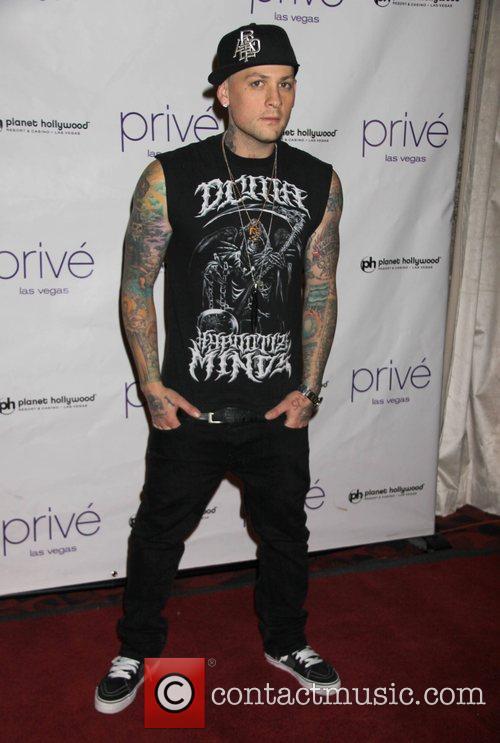 Benji Madden guest DJ's at Prive nightclub inside...