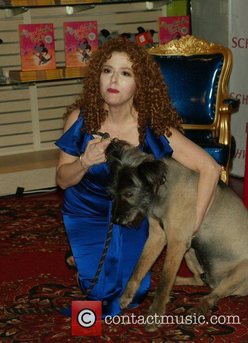 Bernadette Peters and Her Dog Kramer 1