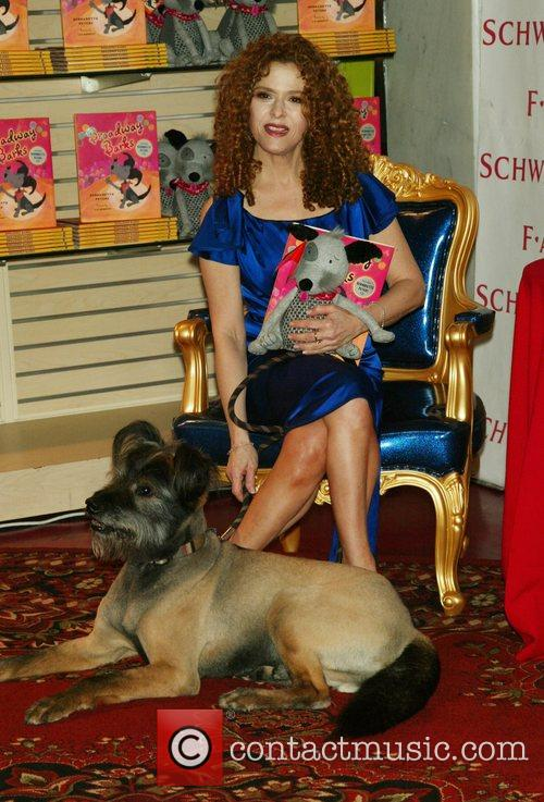 Bernadette Peters and Her Dog Kramer 4