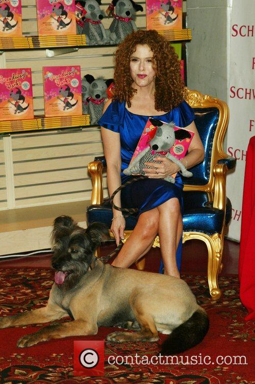 Bernadette Peters and Her Dog Kramer 3