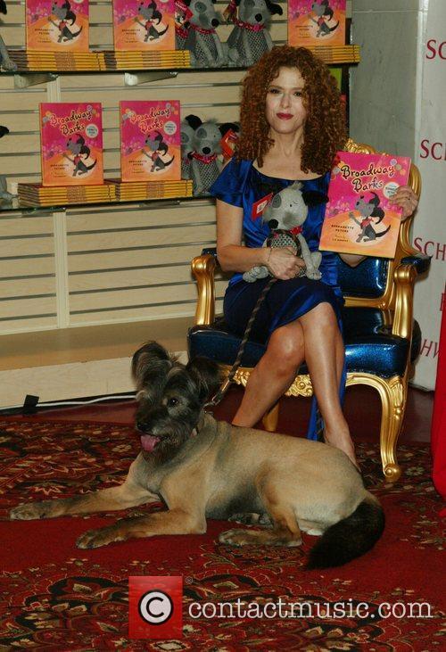 Bernadette Peters and her dog Kramer 7