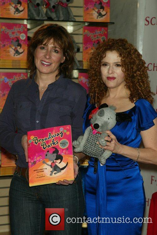 Two-Time Tony Winner Bernadette Peters debuts a plush...