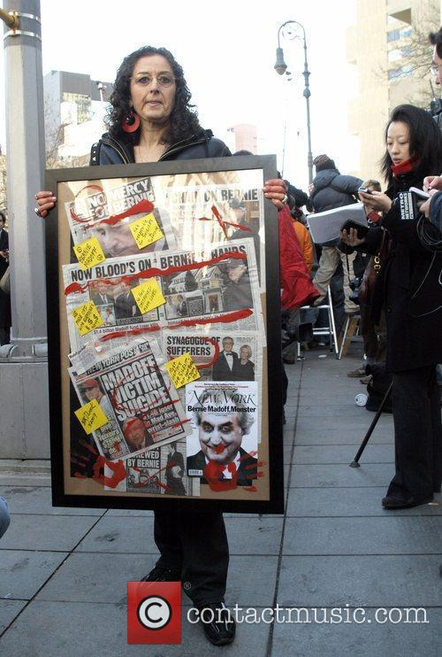 Artist Barbara Karen Dweck The hearing of Bernie...