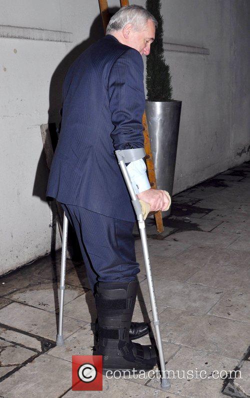 Former Irish Taoiseach Bertie Ahern  arrives at...