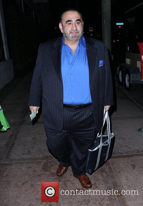 Actor Ken Davitian outside Beso restaurant in West...
