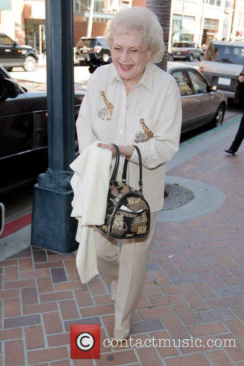 Betty White from 'The Golden Girls' is in...