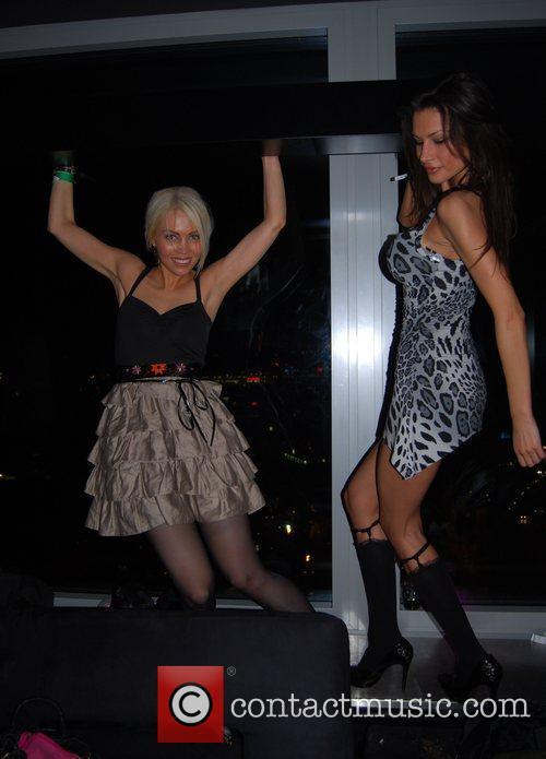Alexa Phazer, Joanna Tuczynska Solange Knowles concert at...