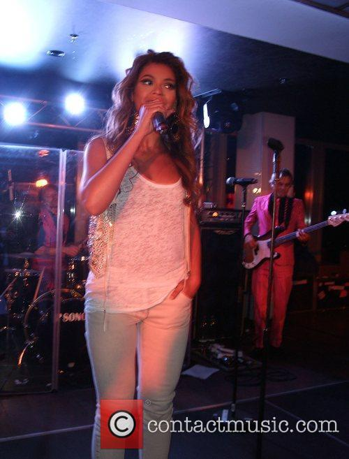 Beyonce Knowles Solange Knowles concert at Puro Sky...