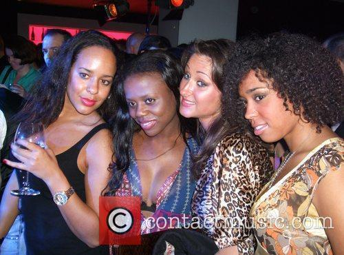 Guests Solange Knowles concert at Puro Sky Lounge...