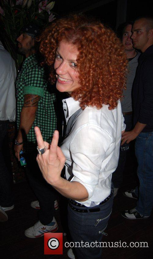 Lucy Diakovska from No Angels Solange Knowles concert...