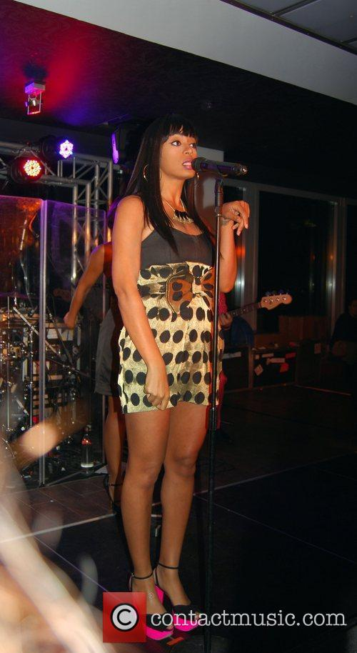 Solange Knowles performing live Solange Knowles concert at...