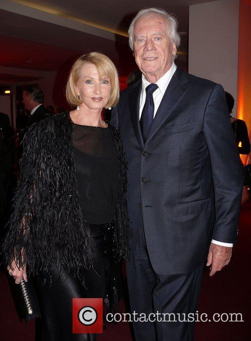 Sandra Pabst, husband Gerhard  Beyond Swing party...