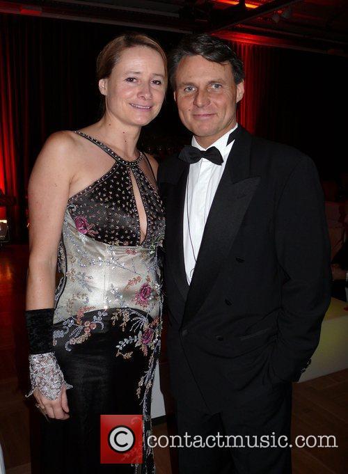 Wolfgang Bahro, wife Barbara  Beyond Swing party...