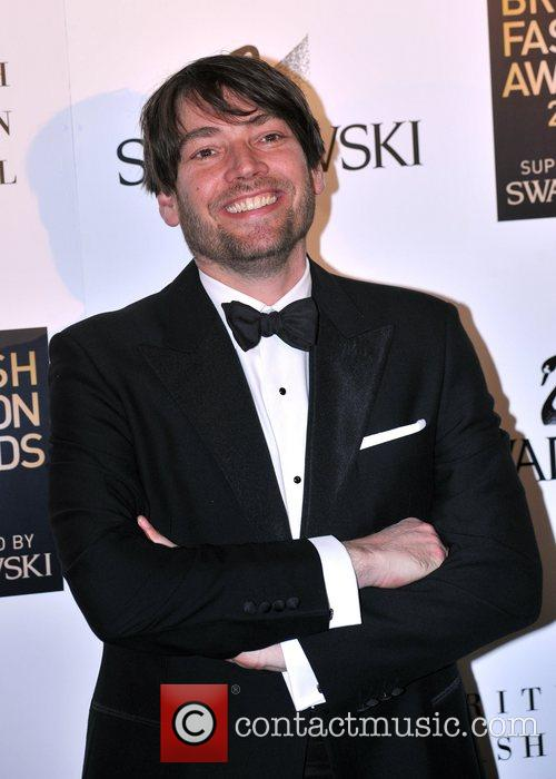 Alex James British Fashion Awards held at Lawrence...