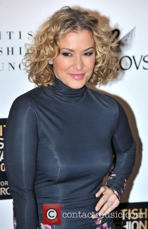 Anastacia  British Fashion Awards held at Lawrence...