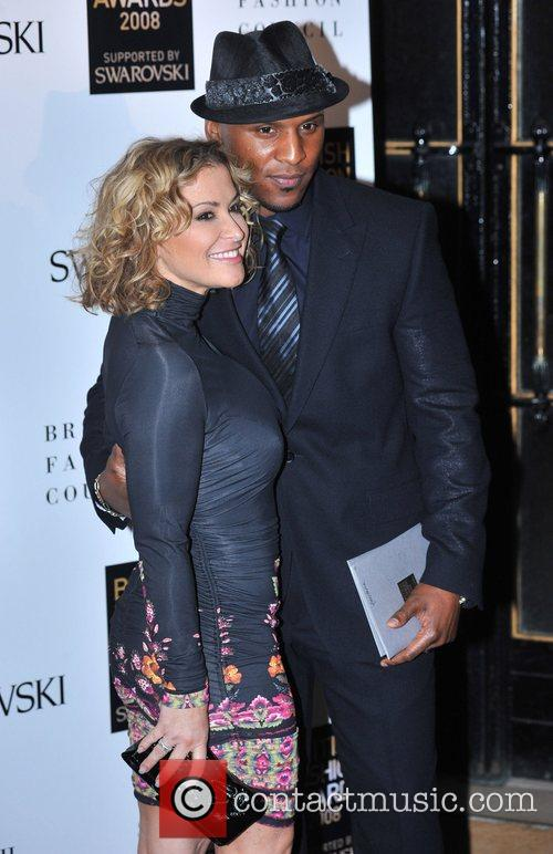 Anastacia and guest  British Fashion Awards held...