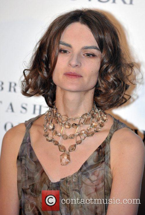 Anouck Lepere  British Fashion Awards held at...