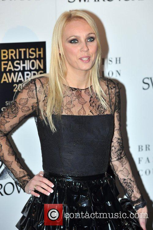 Camilla Dallerup  British Fashion Awards held at...