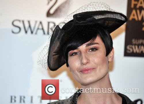 Erin O'Connor  British Fashion Awards held at...