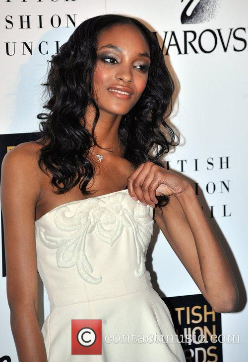 Jourdan Dunn  British Fashion Awards held at...