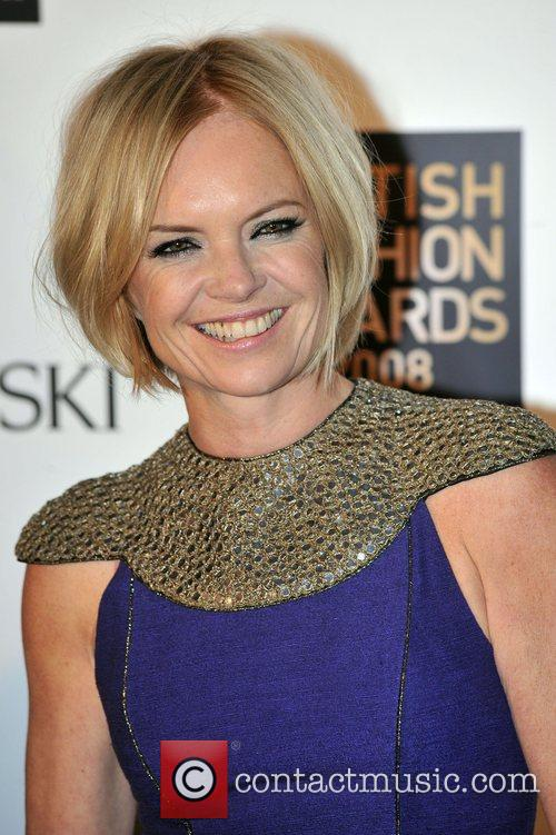 Mariella Frostrup  British Fashion Awards held at...