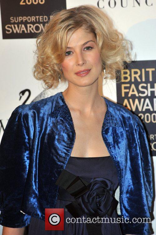 Rosamund Pike  British Fashion Awards held at...