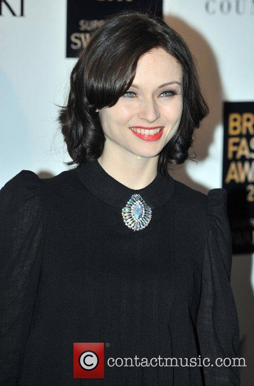 Sophie Ellis Bextor  British Fashion Awards held...