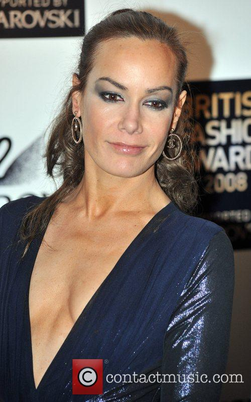 Tara Palmer Tompkinson  British Fashion Awards held...