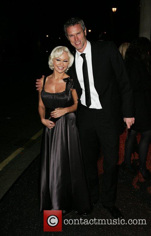 Kristiana Rihanoff and Mark Foster British Fashion Awards...