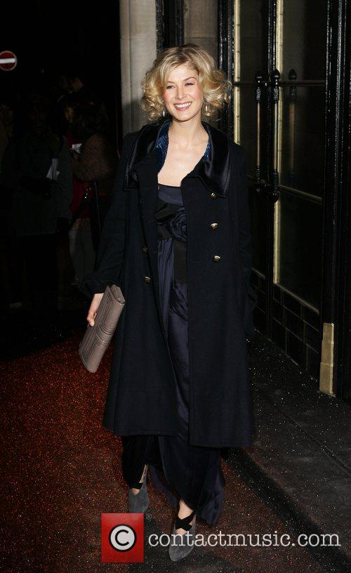 Rosamund Pike British Fashion Awards - outside arrivals...