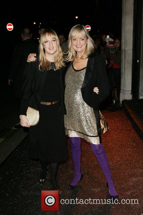 Twiggy and her daughter British Fashion Awards -...