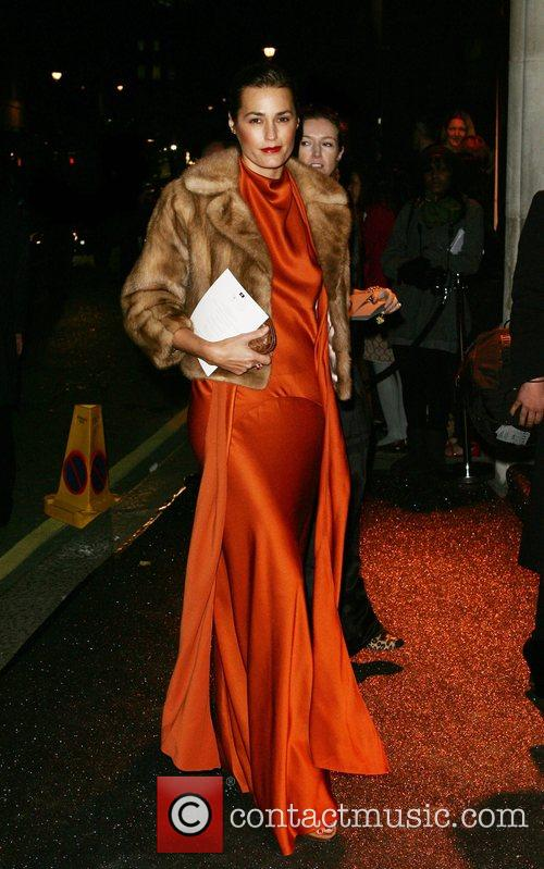 Yasmin Le Bon British Fashion Awards - outside...