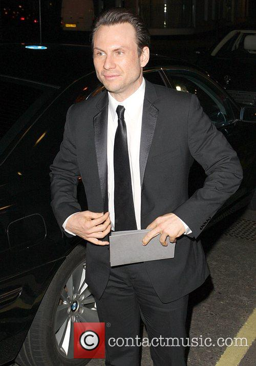 Christian Slater British Fashion Awards - outside arrivals...