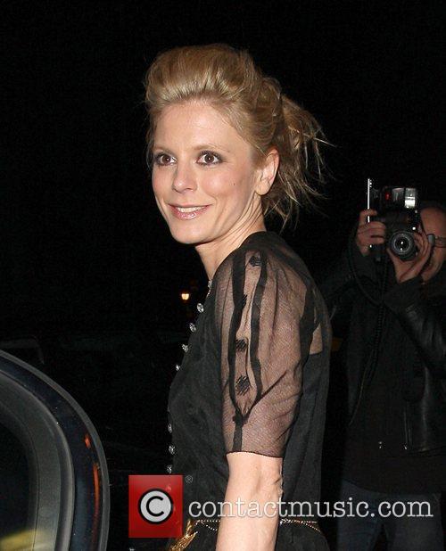 Emilia Fox British Fashion Awards - outside arrivals...