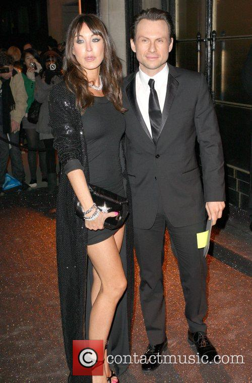 Tamara Mellon & Christian Slater British Fashion Awards...