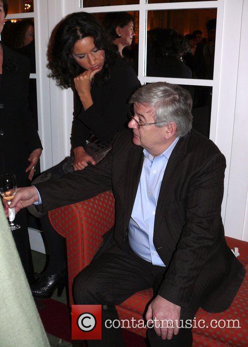 Joschka Fischer and Minu Barati-fischer