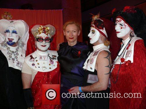 Tilda Swinton and Sisters Of Perpetual Indulgence 6