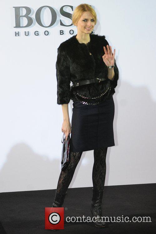 Eva Padberg Boss Black fashion show by Hugo...