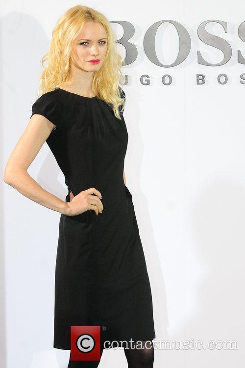 Franziska Knuppe Boss Black fashion show by Hugo...