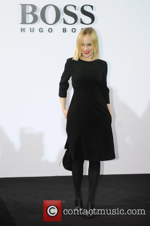 Friederike Kempter Boss Black fashion show by Hugo...