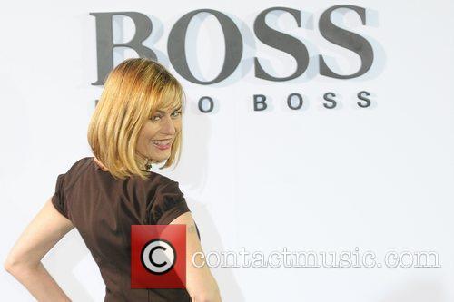 Gesine Cukrowski Boss Black fashion show by Hugo...