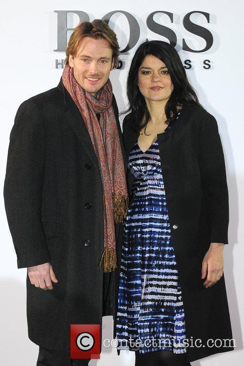 Jasmin Tabatabai and Andreas Pietschmann