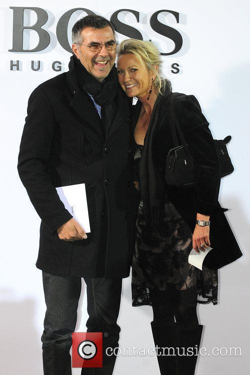 Norbert Medus, Sabine Christiansen Boss Black fashion show...