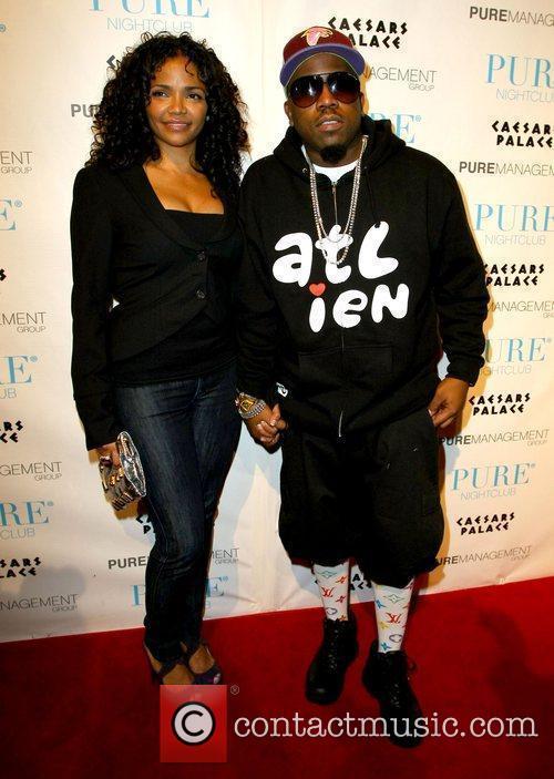Big Boi and Sherlita Patton attends 'It's All...