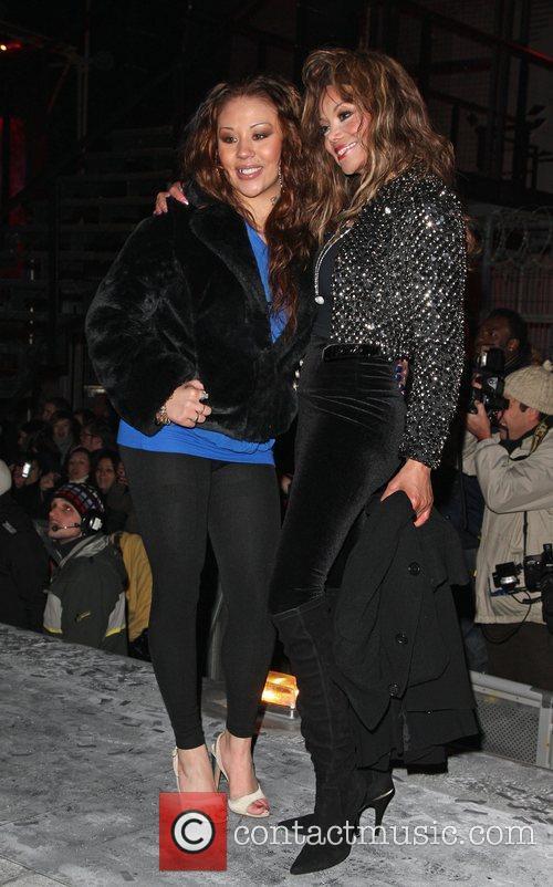 Mutya Buena and La Toya Jackson Celebrity Big...